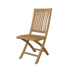 Anderson Teak Tropico Folding Chair Set of 2 - CHF-104