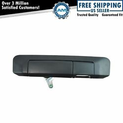 Tailgate Handle with Rear View Camera Provision Textured Black for Tacoma Truck $17.86