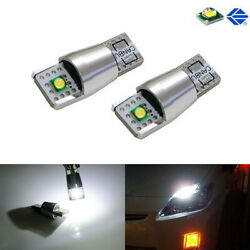 2-CREE 10W 168 194 2825 LED Bulbs For Parking/Position or License Plate Lights $11.82