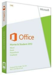 Microsoft Office Home and Student 2013 PKC 79G 03550 For Win10 8 7 Brand New $84.99