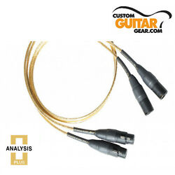 Analysis Plus Micro Golden Oval Interconnect Cables Length 2.0 Meter XLR-XLR