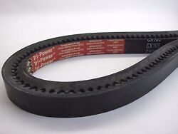 Gates Tri Power CX105 Cogged V Belt Outside Circumference 109quot; Top Width .880 $21.99