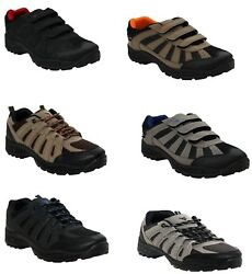 MENS HIKING TRAIL TREKKING WORK BOOTS OUTDOOR WALKING TRAINERS SHOES SIZE UK7 12 GBP 12.99