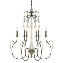 Capital Lighting Vineyard 6 Light Chandelier French Country 410362FC $542.00