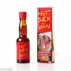 Hot Sex Man Aphrodisiac Drops For Men Increase Sexual Desire 20ml