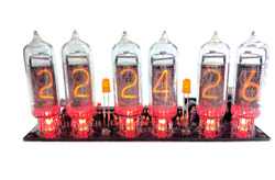 Nixie Clock IN 14 Kit no tubes Arduino Open Source $44.99