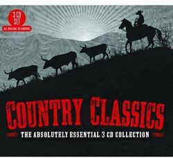 Various Artists Country Classics: The Absolutely Essential 3CD Col New CD UK $8.54