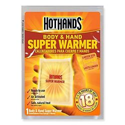 HOTHANDS 240-PACK HAND AND BODY WARMERS $180.00