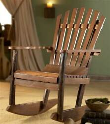 Adirondack Rocking Chair [ID 34]