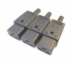 IEC Connector C19 16a for Mains Cables High power cables Martin Kaiser sold as 3 GBP 17.95