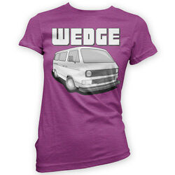 The Wedge Womens T-Shirt x14 Colours - Gift Present Camper Classic Bus T3 T25 $18.73