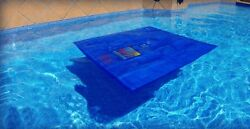 Noair Blue 54 Heat Squares S-1254 Solar Swimming Pool Heating Tarp $37.69