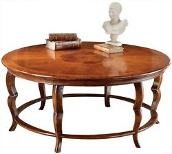 COFFEE TABLE DAVID MICHAEL RUSTIC ANTIQUE DISTRESSED SOLID WALNUT INLAID