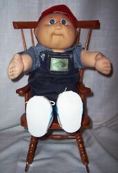 Wooden Rocking Chair for Doll - Fits Cabbage Patch Kids