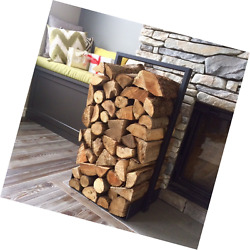 Firewood log rack for home fire place decoration (indooroutdoor) modern and rus