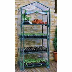 Mini Greenhouse Kit Indoor Outdoor Gardman 4 Tier For Small Spaces Easy Assembly