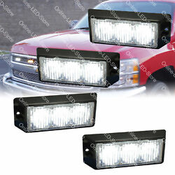 4pc 3W White LED Police Security EMS Firefighter Personal Vehicle Warning Lights $90.00