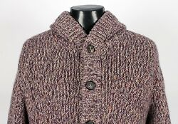 $2950 BRUNELLO CUCINELLI 100% CASHMERE  **SUPER THICK**  Hooded Sweater - 56 XL