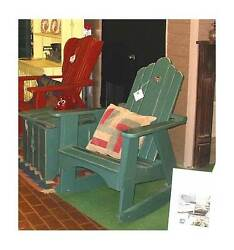 All Weather Adirondack Rocking Chair [ID 186737]