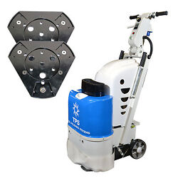 Total Polishing Systems TPSX1SETQP (TPSX1) Floor Prep Machine with 2 Quick Plate