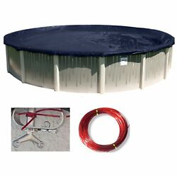 Buffalo Blizzard Round Above Ground Swimming Pool Winter Covers Various Sizes $64.98