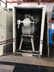 15hp Oil free air compressor Champion WTR45ASUX Cabinet enclosed water cooled