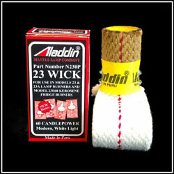 ALADDIN LAMP PART # N230P WICK for MODEL 23 23A and MAXBRITE BURNERS NEW $13.95