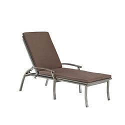 Home Styles Furniture Urban Outdoor Aged Metal Chaise Lounge Chair - 5670-83