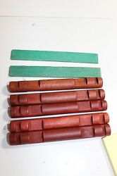Lot Rare HTF pieces Wooden Lincoln Logs 6