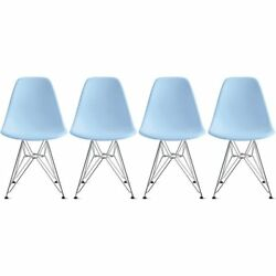 Side Chair Eames Set of 4 Height 18.5
