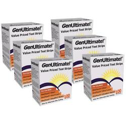 NEW GenUltimate Value Priced Test Strips 100ct 6PK for OneTouch Ultra Ultra2