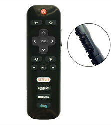 New RC280 LED HDTV Remote for TCL ROKU TV with HBONOW Sling Netflix Amazon $6.50
