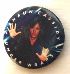 Shaun Cassidy Under Wraps _RARE ORIG 1978 Pin Badge Button for jackethatshirt