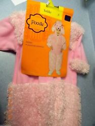 ADORABLE PINK POODLE COSTUME 2T TODDLER HALLOWEEN COSTUME PLAYTIME NICE NEW $20.77