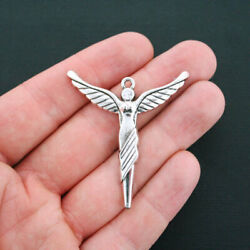 1 Angel Charms Antique Silver Tone Large Size- SC3714 $3.49