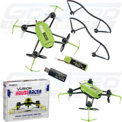 RISE Vusion House Racer RISE0208 125 Race Indor Mini Quadcopter Green FPV Ready $79.99