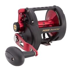 4845d9718d4 Penn Fathom Fth60ldhs High Speed Medal Body Conventional Fishing Reel  1422246