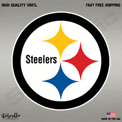 Pittsburgh Steelers NFL Football Color Logo Sports Decal Sticker Free Shipping $2.39