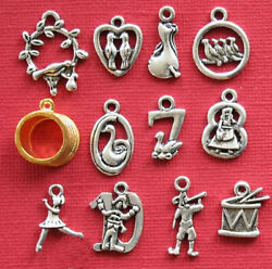 12 Days of Christmas Charm Collection The Ultimate 12 Different Charms COL239 $7.94