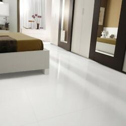 Crystal Marmo Glass Stone Tile Porcelain Floor White 24x48 Micro Glossy Wall $111.84