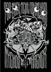 Nychos amp; Michael Hacker quot;Too Much Metal for One Headquot; Signed amp; Numbered Print $99.00