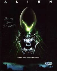 Harry Dean Stanton Alien Authentic Signed 8X10 Photo Autographed BAS #B93936