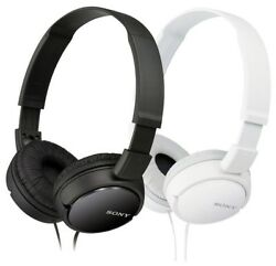 Sony MDR-ZX110 Stereo Over-Head Headphone Extra Bass Black & White Colors $15.77