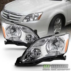 For Replacement 2005 2006 2007 Toyota Avalon Halogen Headlights lamps Left+Right $139.99