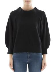 Rta Women's Wf7cs816 Black Cashmere Jumper