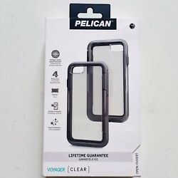 Pelican Voyager Clear Case Holster for Apple iPhone SE 2020 7 Gray Brand New OEM $25.65