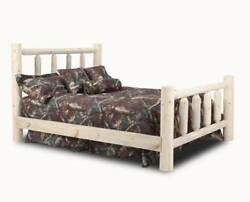 Chelsea Full Log Bed in Unfinished [ID 3564209]