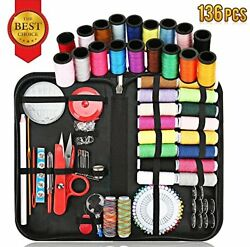 Sewing Kit Supplies for All Purpose with Total 136 Premium Supplies-Enhanced