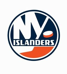 New York Islanders NHL Hockey Full Color Logo Sports Decal Sticker-Free Shipping