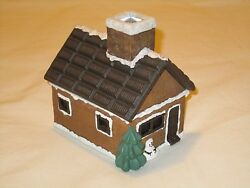 S'Mores Log Cabin with Incense Burner - Midwest of Cannon Falls Christmas Decor